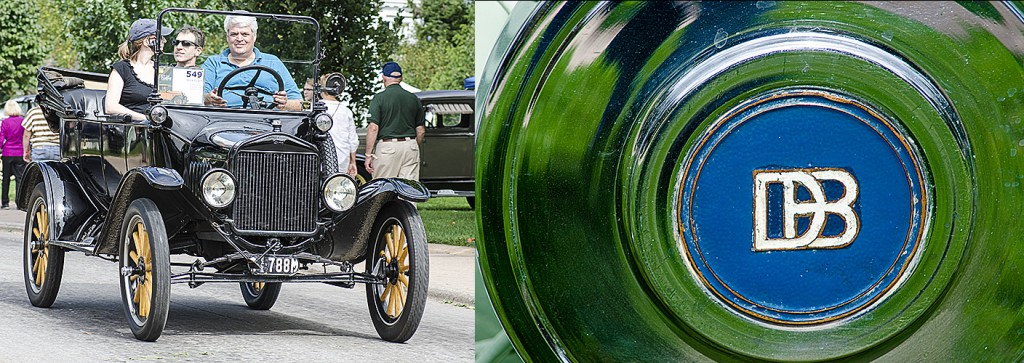 At the Old Car Festival at Greenfield Village